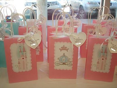 Cozy Home Chronicles Princess Party Table Bags
