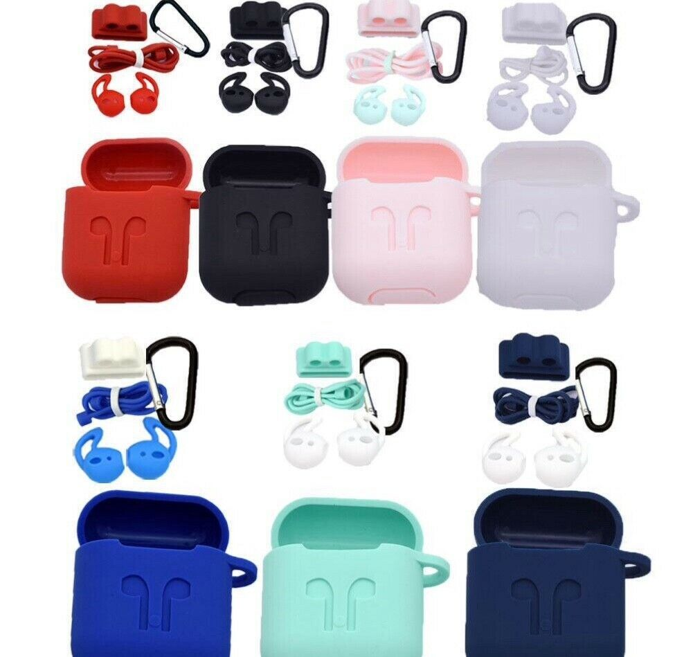 Silicone Shockerproof Case for Apple AirPods Cover with