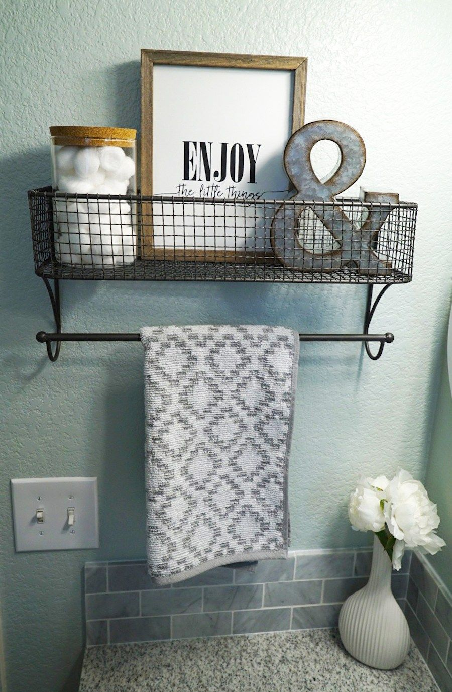 Beau Guest Bathroom Makeover   Decor