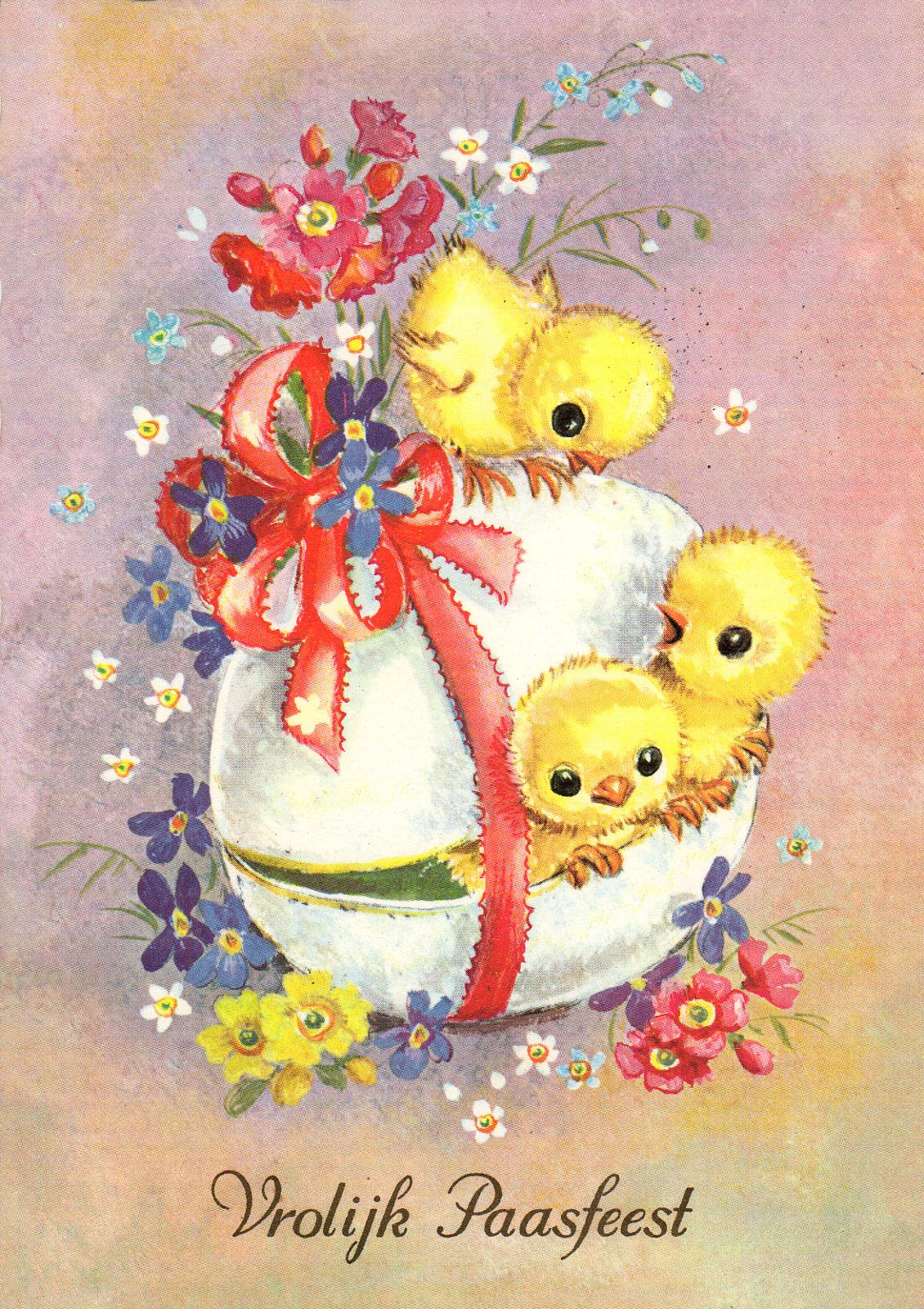 All Sizes Easter Greeting Card Of The Sixties Flickr Photo