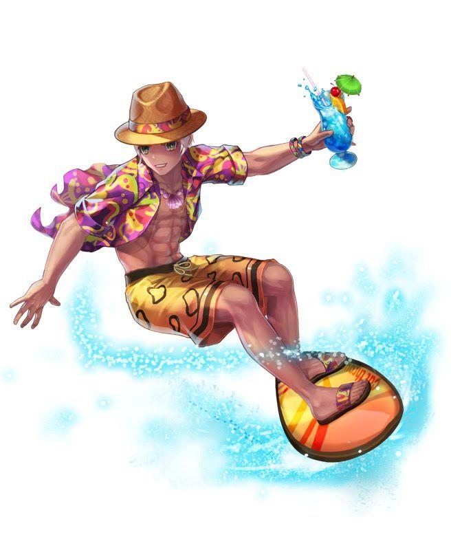 Surfer Lost Saga Heroes Saga Fantasy Art Disney Characters