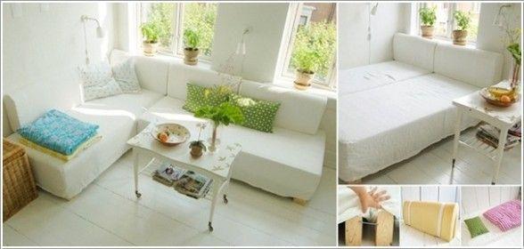 10 grandes ideas para decorar espacios pequeños de la casa - Decorarok
