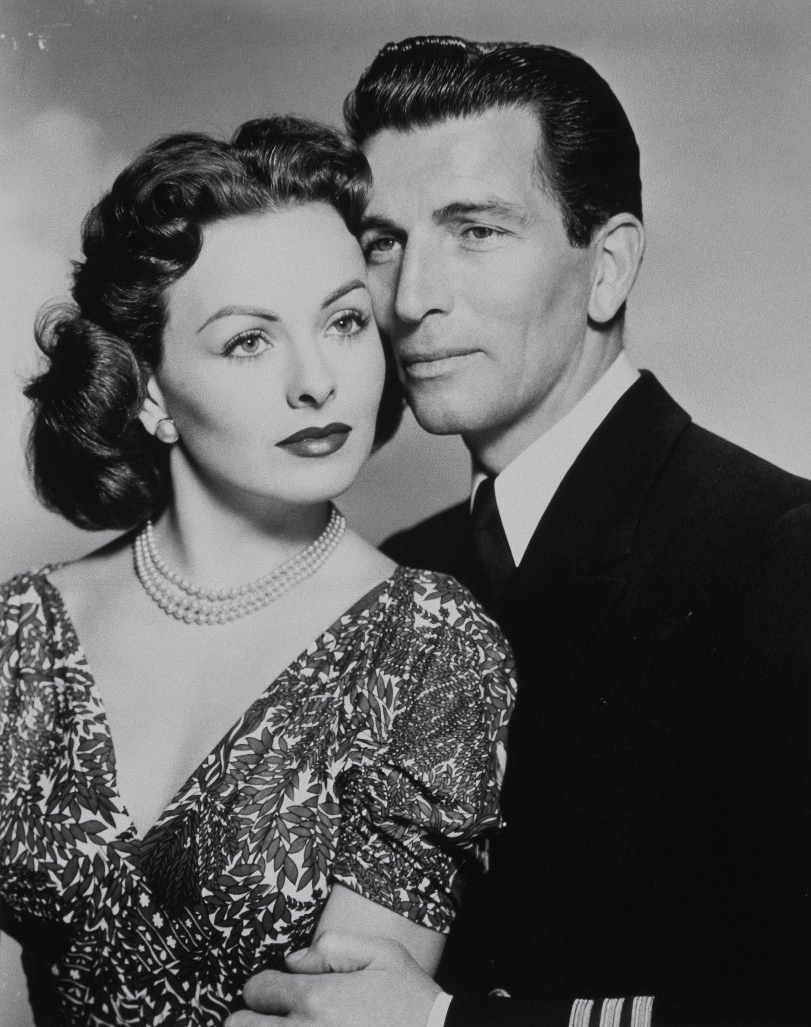 Jeanne Crain And Michael Rennie in Dangerous Crossing