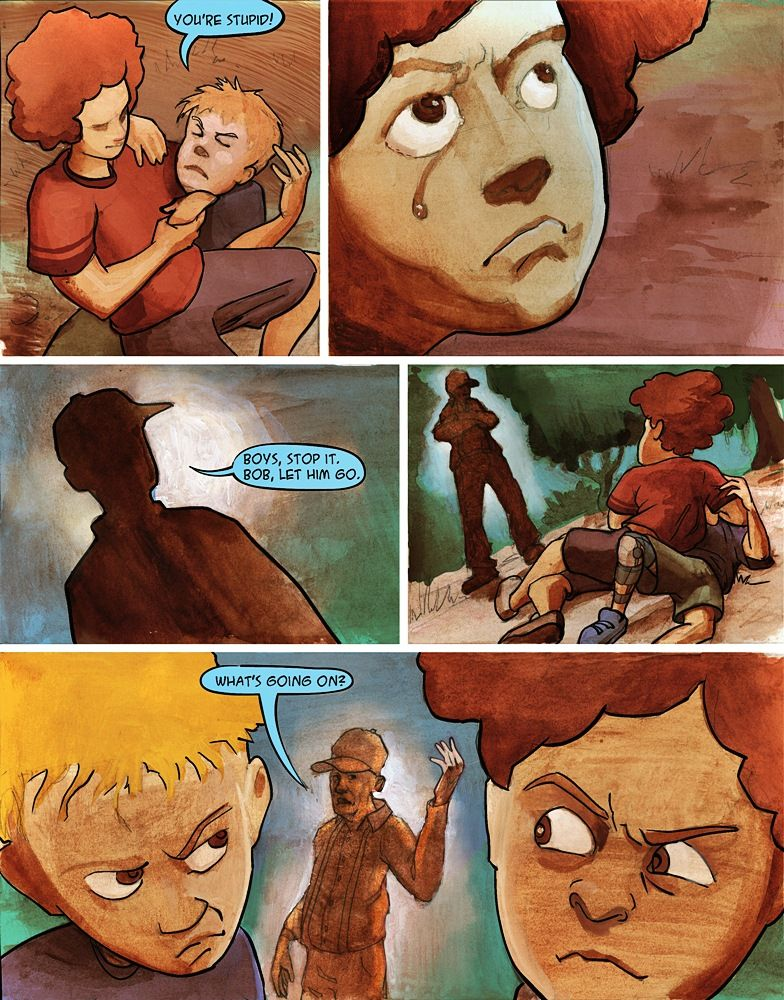 Page 5 - KingofOvergrove.com - KINGS OF OVERGROVE is an action adventure about two brothers who must enter a subterranean world (THE UNDERGROVE) in order to defeat horrible monsters and save the family ranch above ground (THE OVERGROVE)… If they fail, it's goodbye ranch, and worse, goodbye boys!