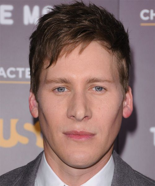 Dustin Lance Black Short Straight Casual Hairstyle