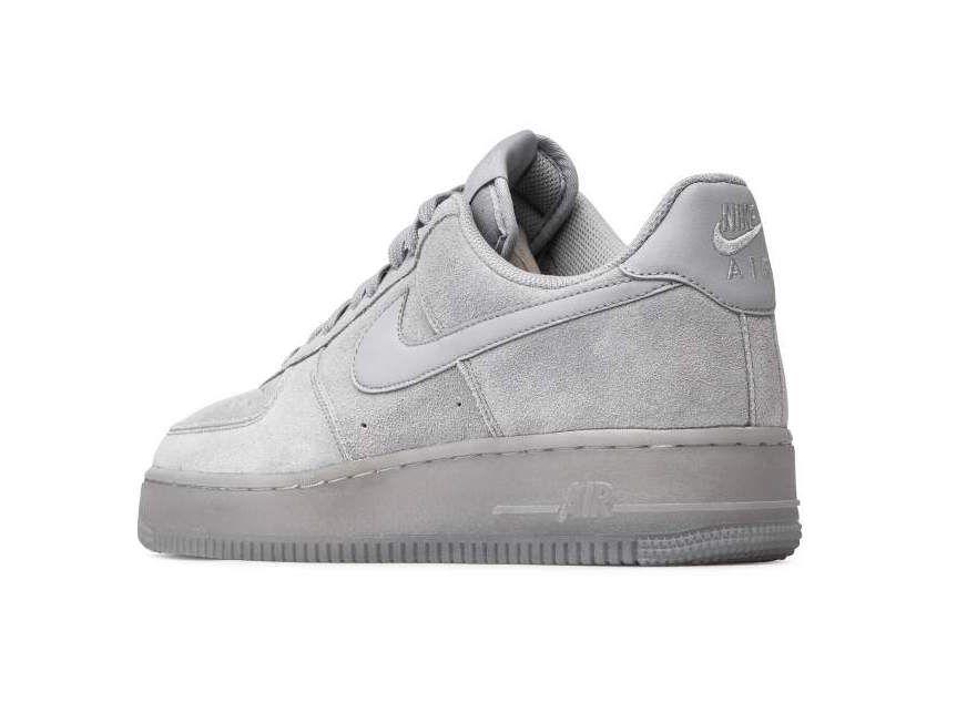 Nike Air Force 1 Low Wolf Grey Suede Bq4329 001 Release Date Sbd Gorras Elegante Estilo