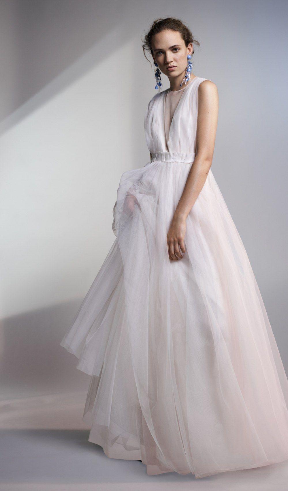25796f7b5 H&M : sa nouvelle robe de mariée pas cher et 100% écolo | Robes de ...