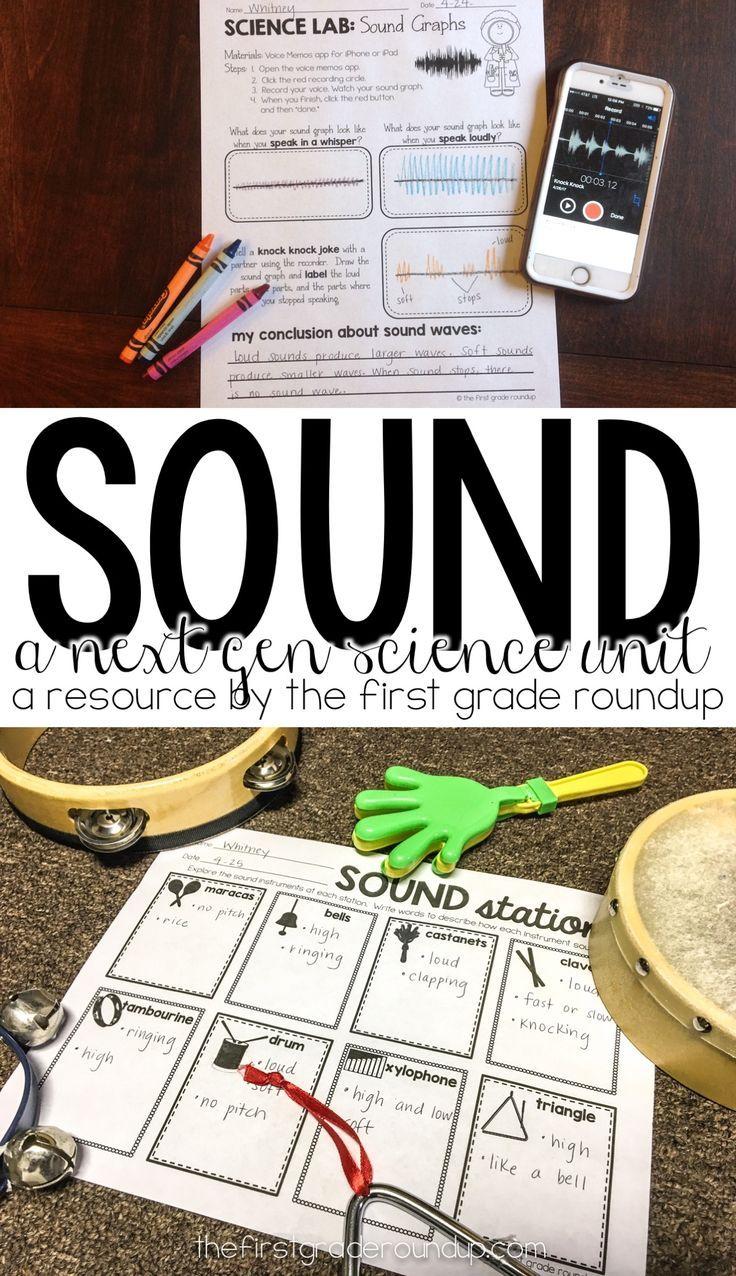 Sound Next Generation Science Unit First grade science
