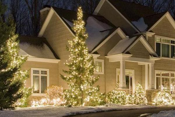 Decorating Home Landscaping Ideas Front Yard Outdoor Light Up - outside christmas decorations sale