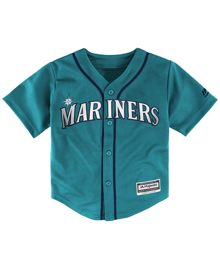 Majestic Toddlers  Seattle Mariners Replica Cool Base Jersey bac9d53bb5a8