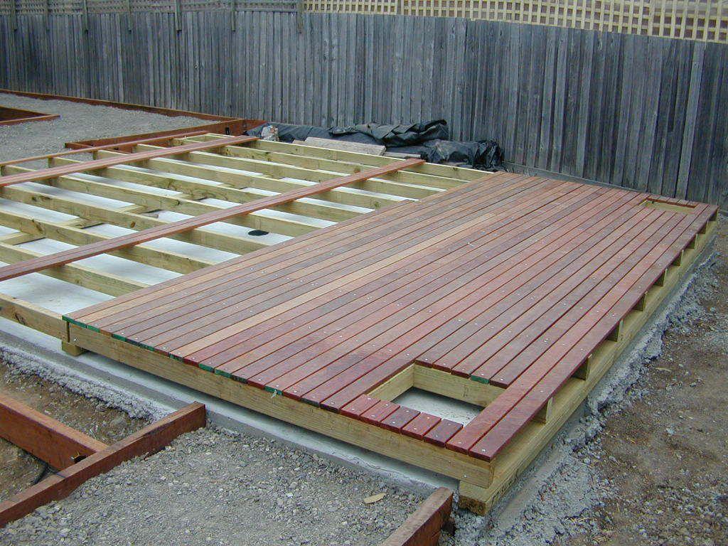 Decking Over Concrete Deck Over Concrete Concrete Patio Wood Deck