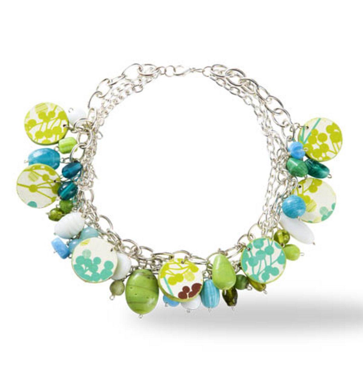 Dazzling Decoupage Necklace at Joann.com | Home | Pinterest | Decoupage