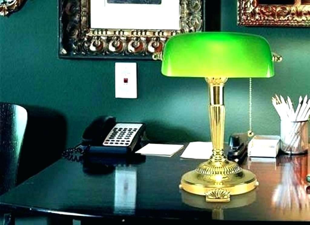Green Shade Desk Lamp Bankers Desk Lamp Desk Lamp Lamp