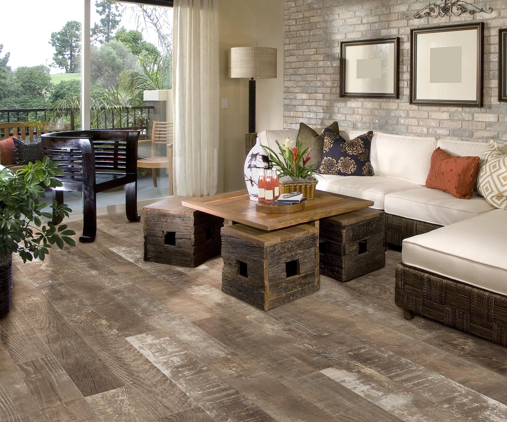 Sequoia Ballpark Is A 6 X 36 Rustic Porcelain Tile Plank