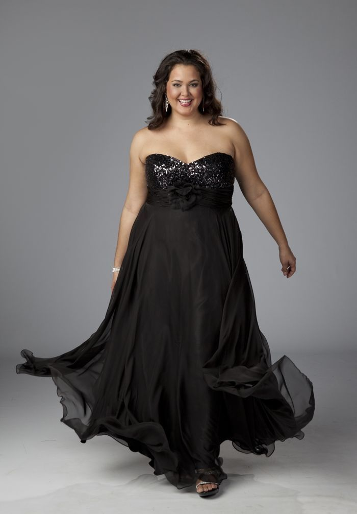 Plus size evening gown dresses - http://www.cstylejeans.com/plus ...