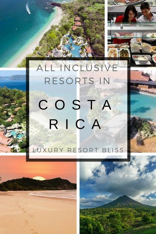 Costa Rica All Inclusive Resort Vacations