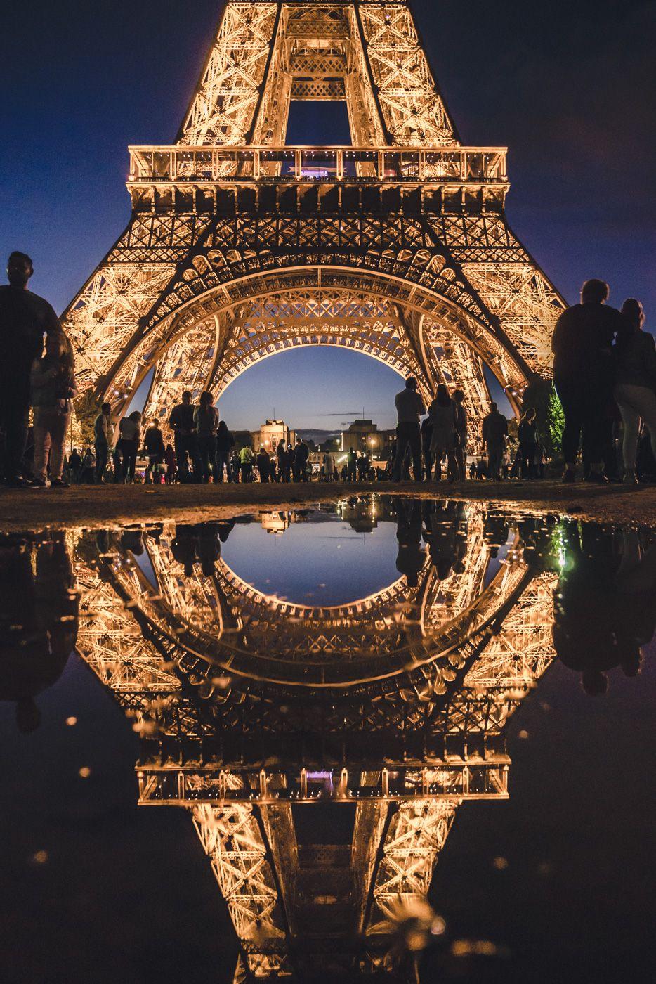 Paris eiffel tower Eiffel Tower wasn't designed by Gustave Eiffel, Paris, France #travel #paris #france #eiffeltower