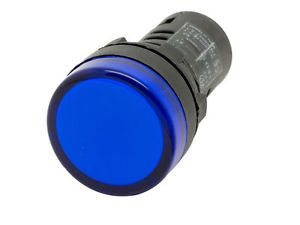L22 Ati Blue Led Pilot Panel Indicator Light 22mm 24v Ac Dc Indicator Lights Light Cool House Designs