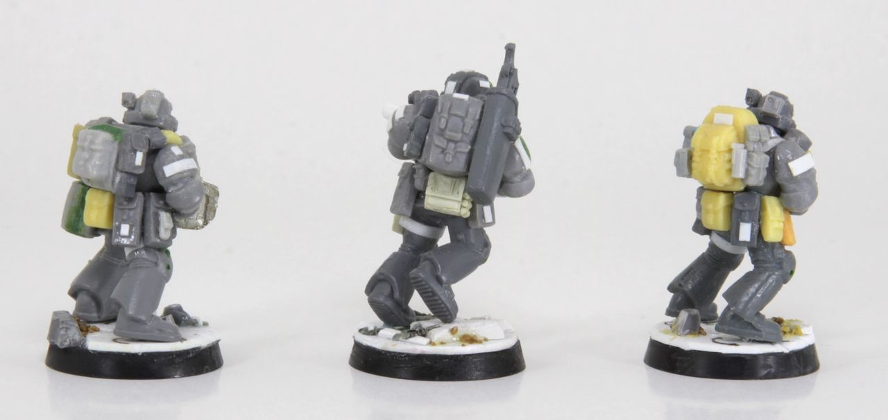 Space Marine Spec Ops: more backpack ideas