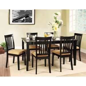 Lexington 7 Piece 60 Inch Width Table Dining Set With