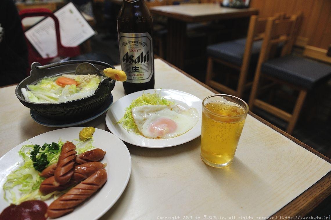 沼袋の母と父が営む素敵昼酒スポット:福久家食堂