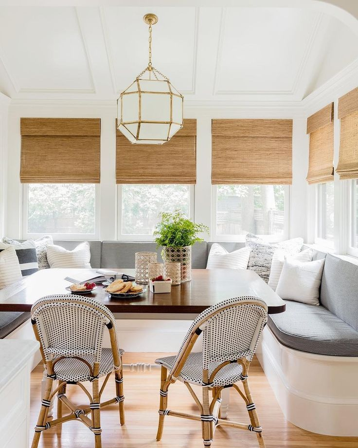 Banquette Seating In Kitchen, Built In Banquette Seating Dining Room