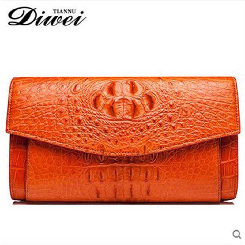 diwei 2017 new hot free shipping crocodile skin lady handbag single shoulder bag women Bag lady wallet inclined shoulder