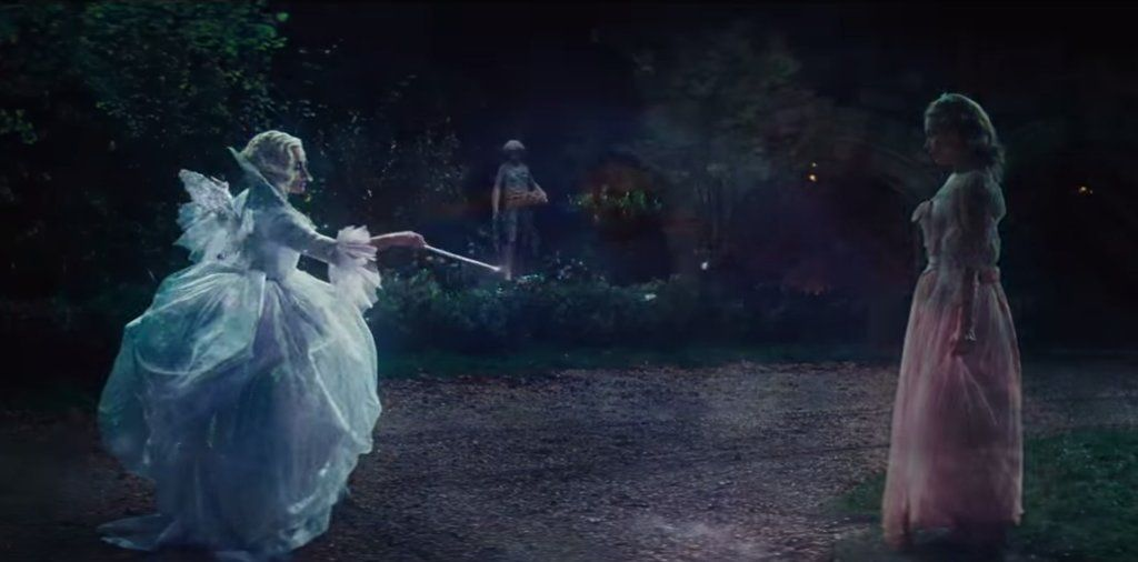 And Cinderella S Fairy Godmother Is Of Course Magical