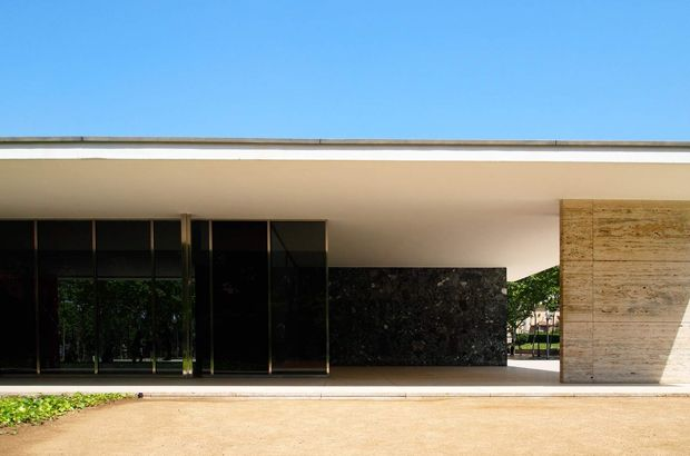 The Barcelona Pavilion By Mies Van Der Rohe 2 The New House