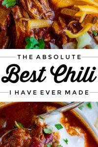 The Best Chili Recipe I've Ever Made (Slow Cooker)