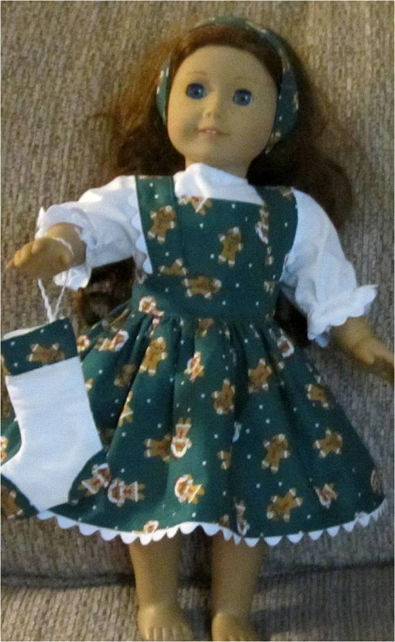 Vintage Doll with Headband /& Pinafore Pattern