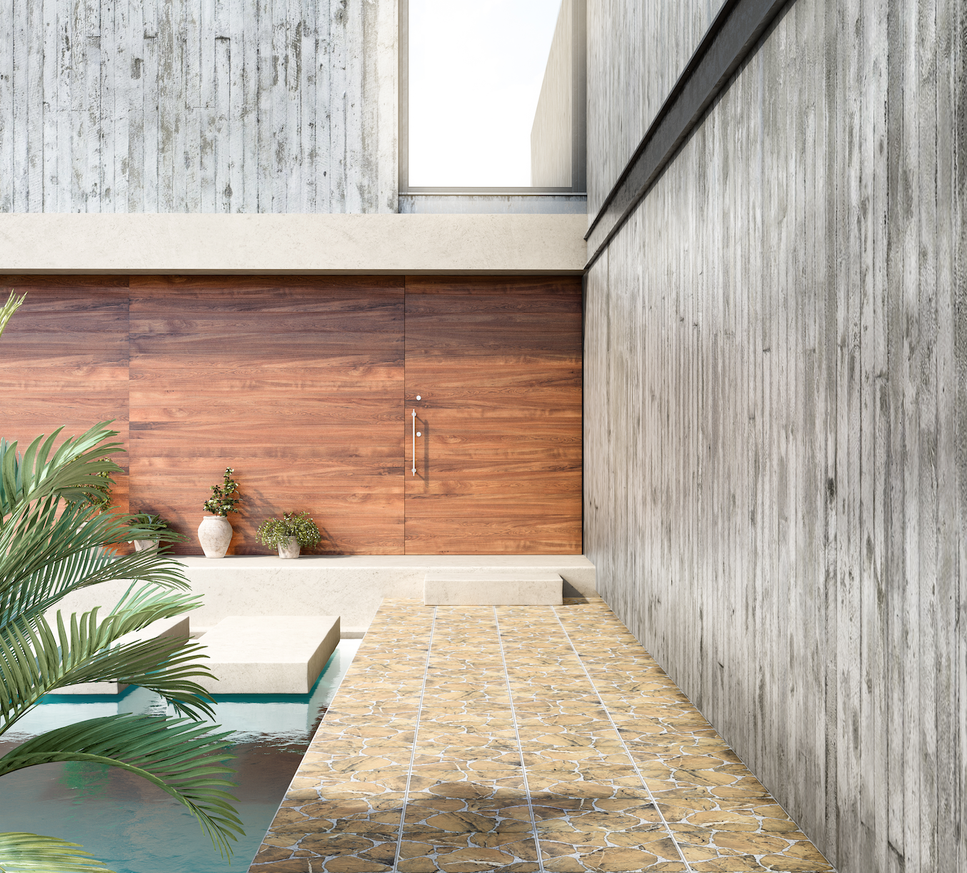 Piso pinar 45x45 caf daltile pisos pisos for Pisos exteriores