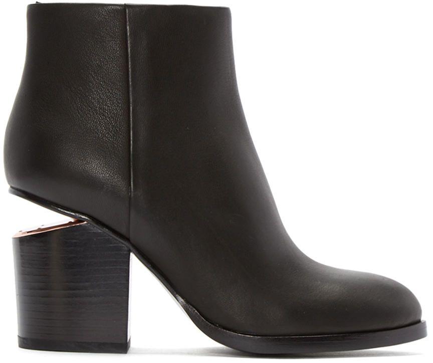 Womens High Heels Alexander Wang Cutout Heel Gabi Boots Black 7 Heels alexanderwang Website