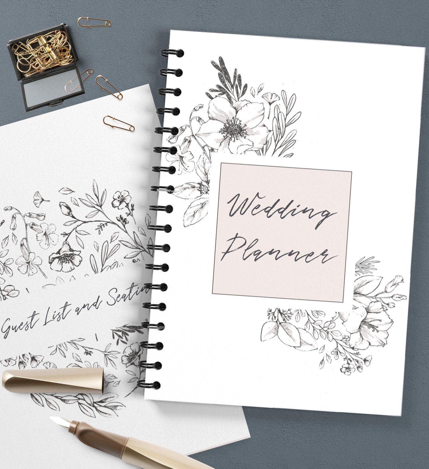 Free Printable Wedding Planner By Creativethings Studio In