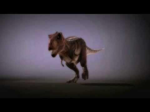 T-Rex March Walk Cycle By Maccollo -