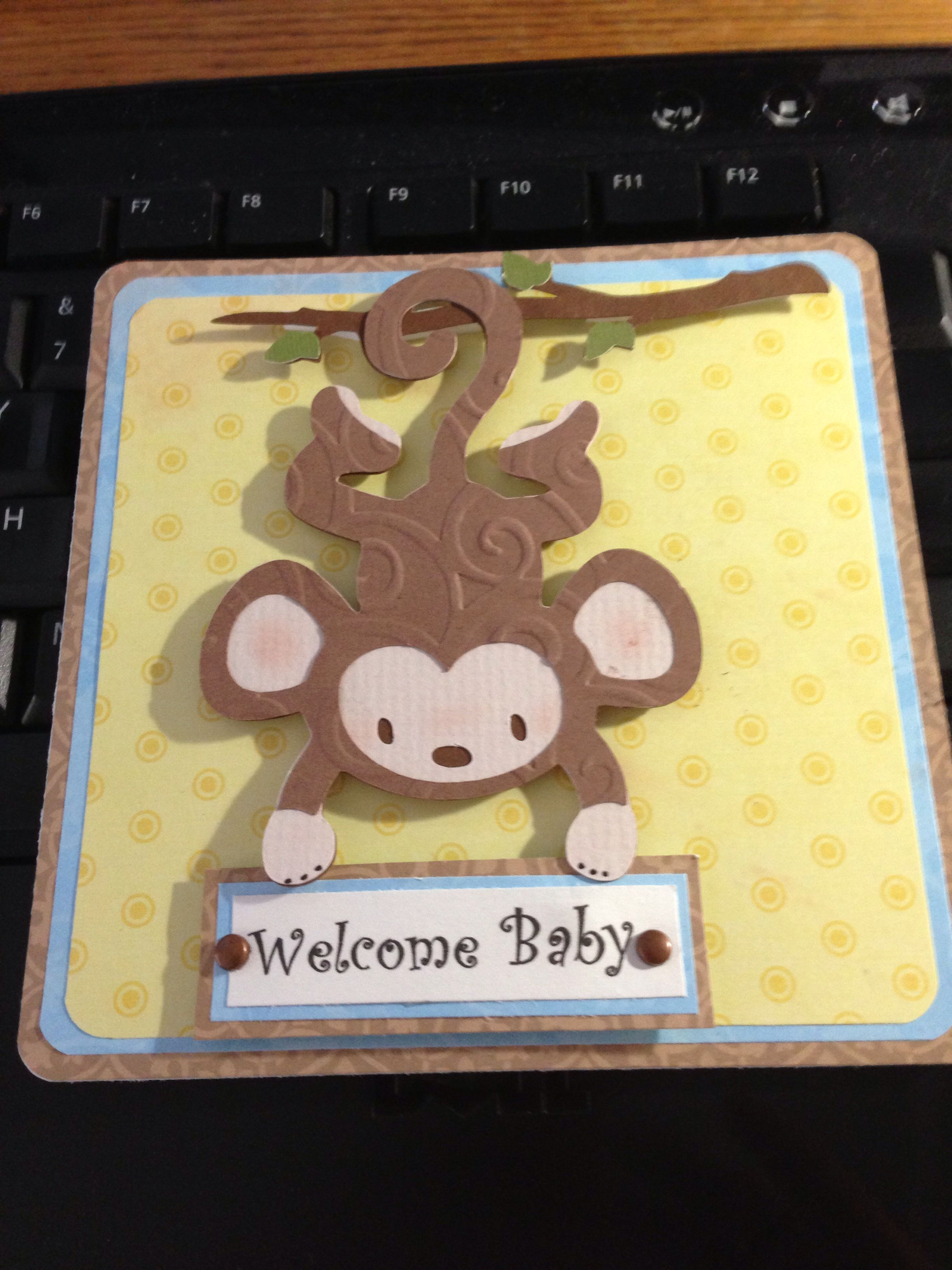 Garden decor for baby shower  Baby shower card  Cards by Me Rebecca Clowers  Pinterest  Babies