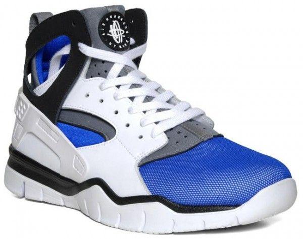 6d3ff1aa0623 Nike Air Huarache BBall 2012  White Black-Soar