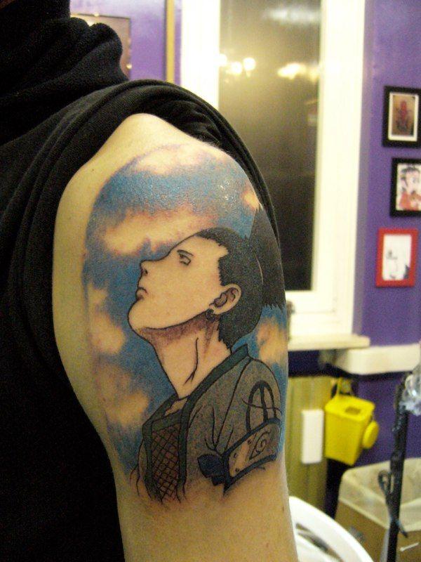 Shikamaru Naruto Manga Tattoos Not Just A Tattoo It S Art