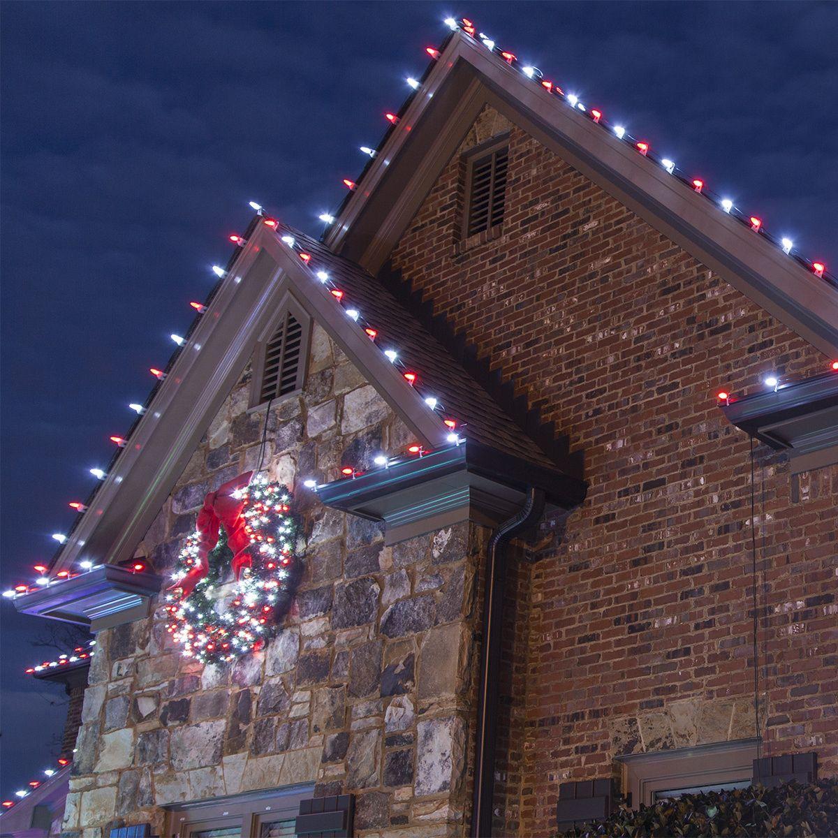 Hanging Christmas Lights
