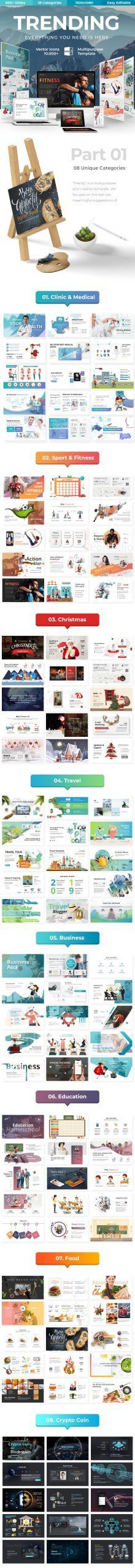 Trending Multipurpose Powerpoint Template #advertisement #branding #business #christmas #coin #compa...