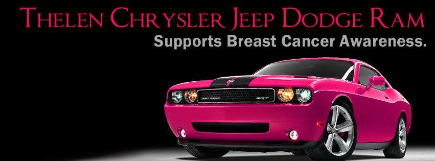 Thelen ChryslerDodgeJeepRam supports Breast Cancer Awareness