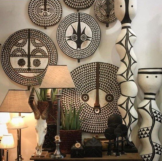 DECOR TRENDS | African masks wall decor ideas