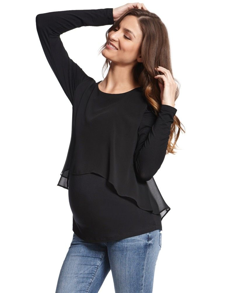 4295a5ae46fb3 Sheer overlay skims over your curves Silky stretch jersey for a flexible  fit Flattering scooped neckline A sheer black overlay defines the  contemporary ...