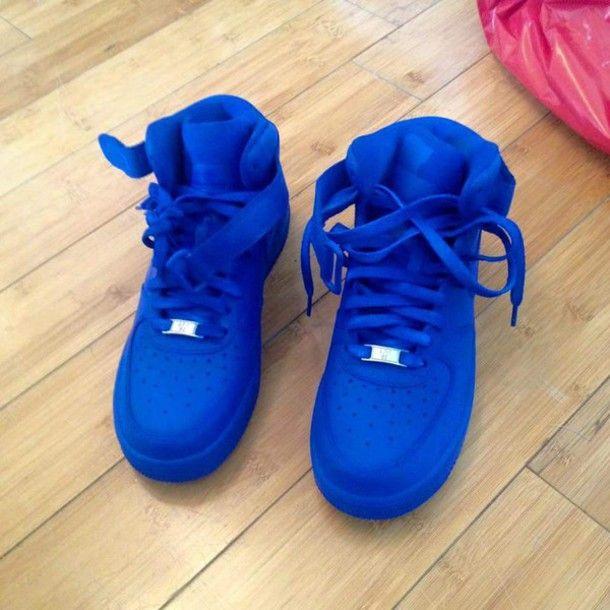 5843c0a96 Royal blue  shoes