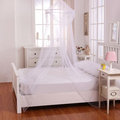 Casablanca Kids Raisinette Bed Canopy In White Kids Bed Canopy