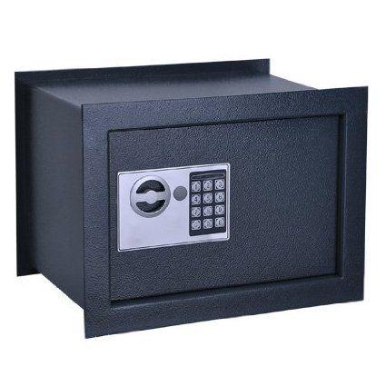 amazon com 11x15x10 inch electronic digital deep wall on wall safe id=79851