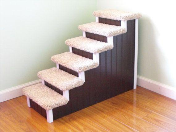 Dog Steps 28 High Designer Dog Stairs Custom by HamptonBayPetSteps