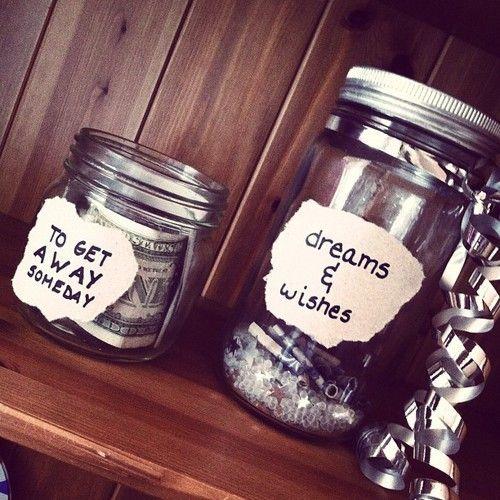 Jars for Money!