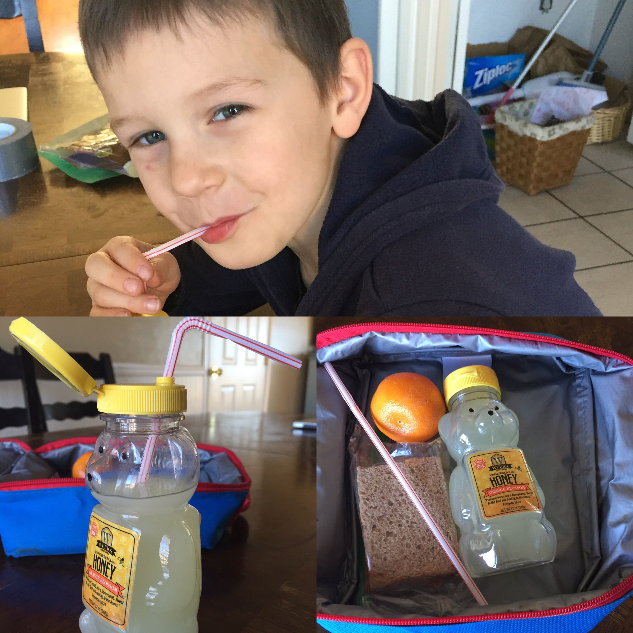 I'm always looking for recyclable drink bottles for the kids lunches, & how fun, I love it!!!