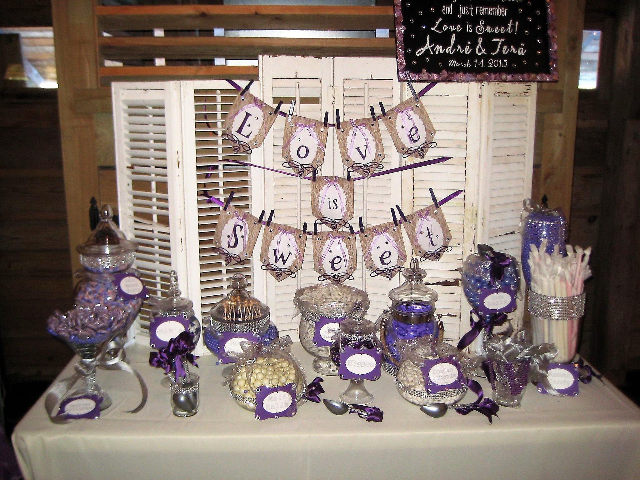 Wedding Candy Bar Candy bar wedding, Wedding candy, Wedding